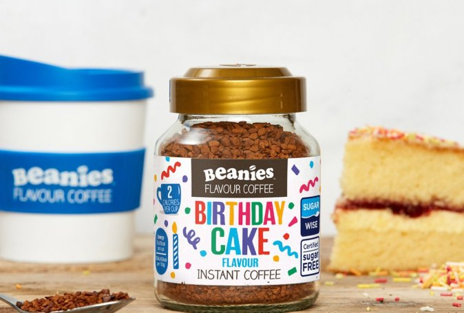 Birthday Cake Instant Coffee