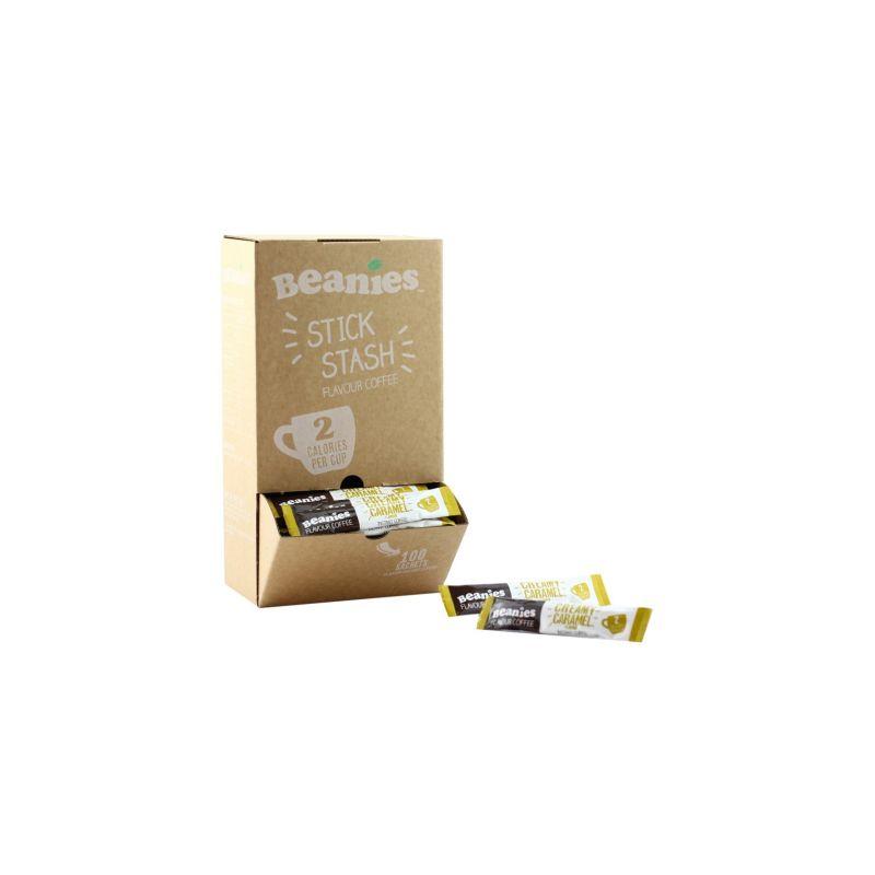 100 Creamy Caramel Stick Sachets