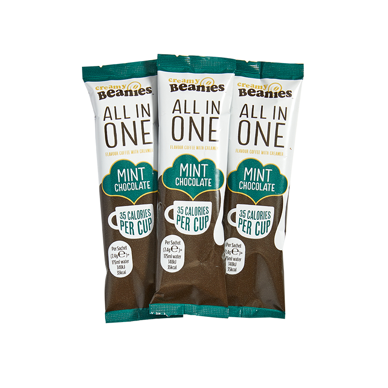 50 Mint Choc Flavour All In One Sachets