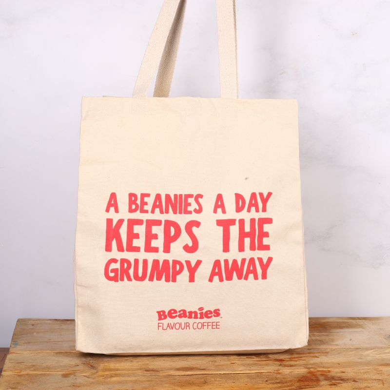 A Beanies a Day Tote Bag