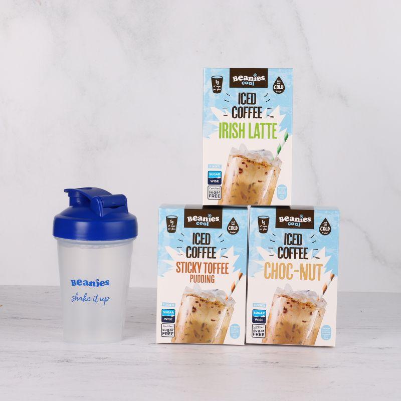 Iced Coffee with Beanies Mini Shaker