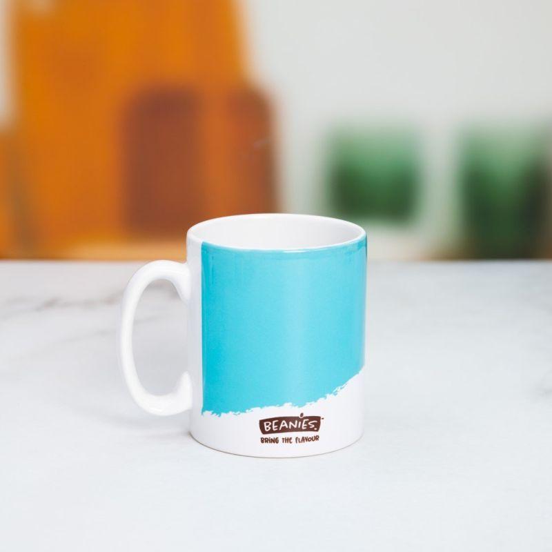 Beanies Blue Ceramic Mug