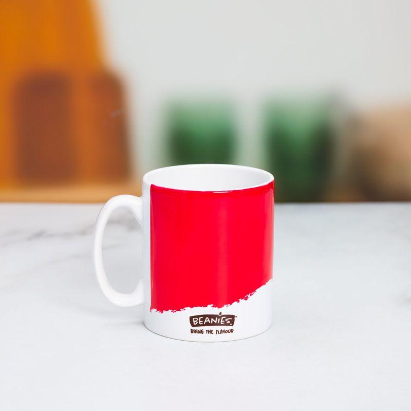 Beanies Red Ceramic Mug