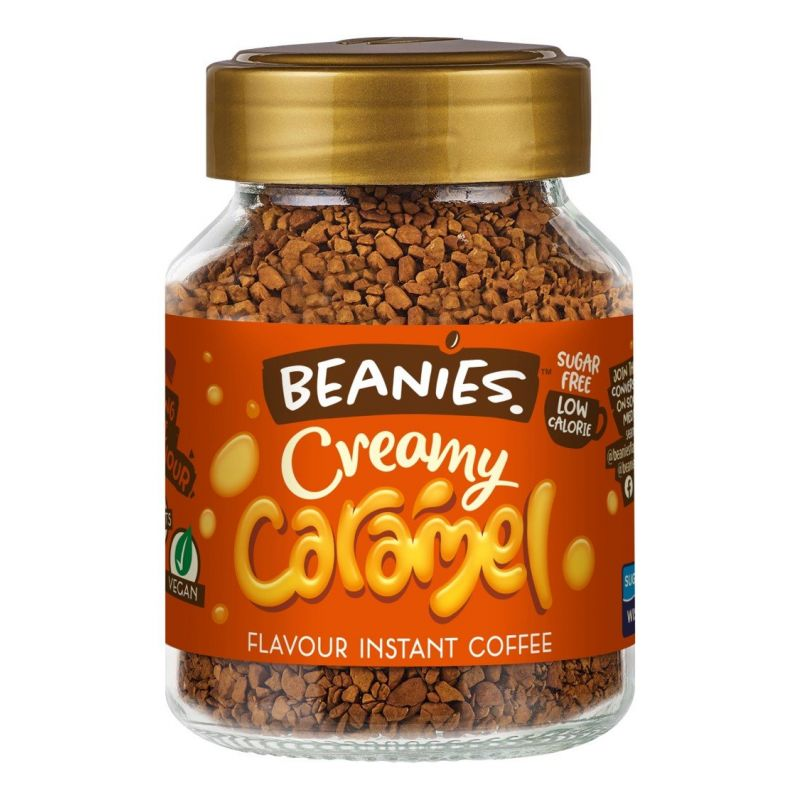Creamy Caramel Flavoured Coffee