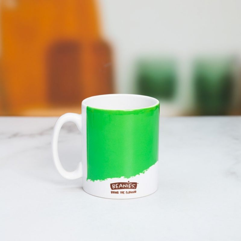Beanies Green Ceramic Mug