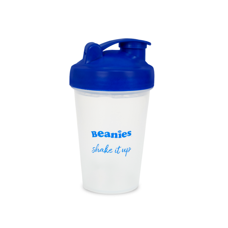 Blue Protein Shaker