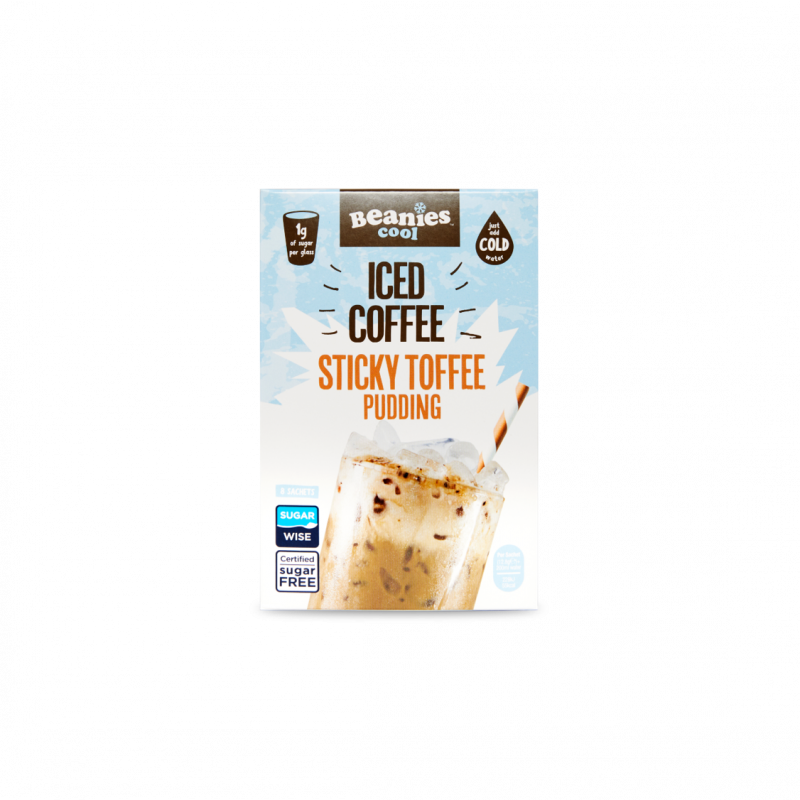 Sticky Toffee Pudding Iced Coffee