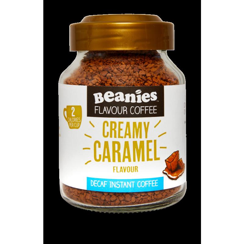 Creamy Caramel Flavoured Decaf Coffee