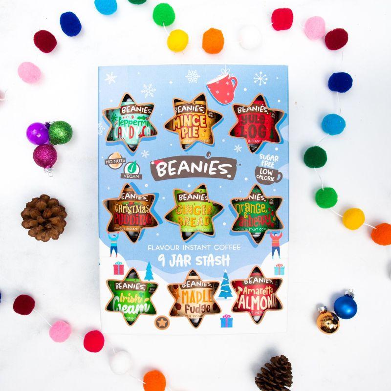 9 Jar Festive Coffee Gift Box