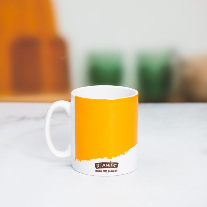 Beanies Yellow Ceramic Mug